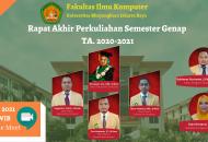 Thumbnail for the post titled: RAPAT AKHIR PERKULIAHAN SEMESTER GENAP TA. 2020/2021