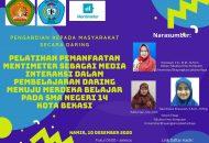 Thumbnail for the post titled: Ubhara Jaya Gelar Pelatihan Mentimeter Online Kepada Para Guru di SMAN 14 Bekasi