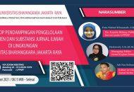 Thumbnail for the post titled: Workshop Pendampingan Pengelolaan Manajemen dan Substansi Jurnal Ilmiah di Lingkungan Universitas Bhayangkara Jakarta Raya