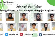 Thumbnail for the post titled: Selamat dan Sukses, Mahasiswa Peserta Kampus Mengajar Angkatan-1 Fakultas Ilmu Komputer